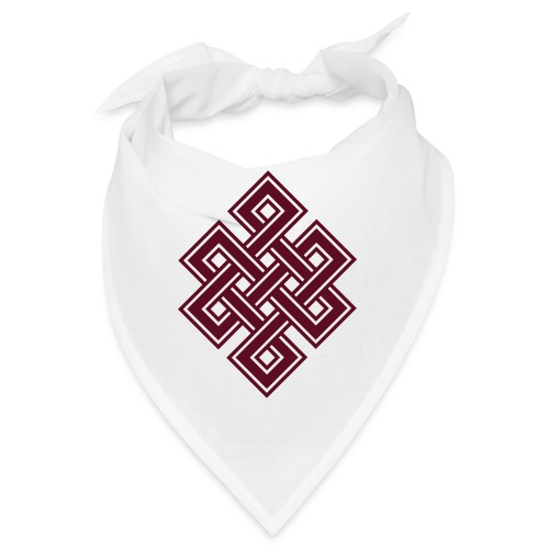 Endlos Knoten, Tibet, Unendlich, Buddhismus, Glück - Bandana