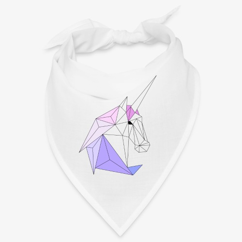 Einhorn geometrie unicorn - Bandana