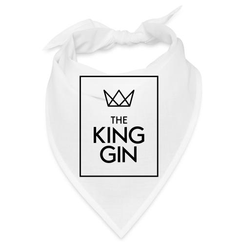 The King Gin Logo schwarz RGB Rahmen - Bandana