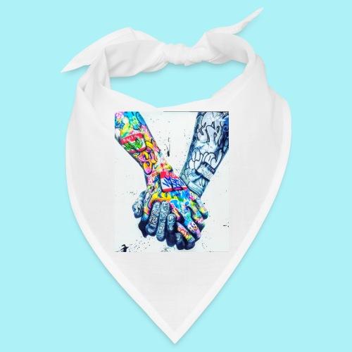 Main dans la main tatoués - Bandana
