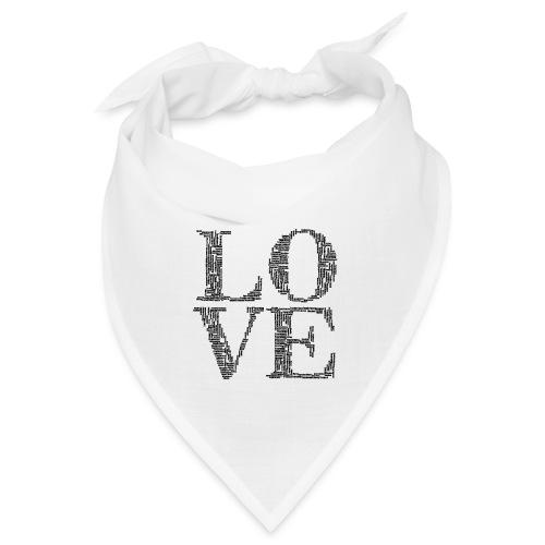 Love, love you, fall, I love you, wedding - Bandana