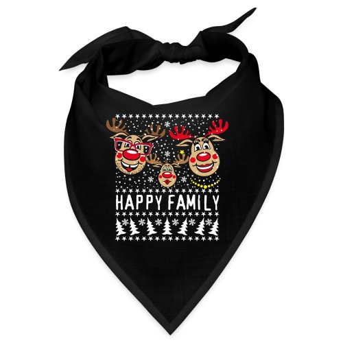 94 Hirsch Rudolph HAPPY FAMILY Papa Mama Kind - Bandana