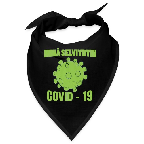 Minä selviydyin - COVID-19 - Bandana