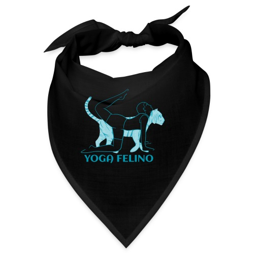 t shirt design YOGA FELINO - Bandana