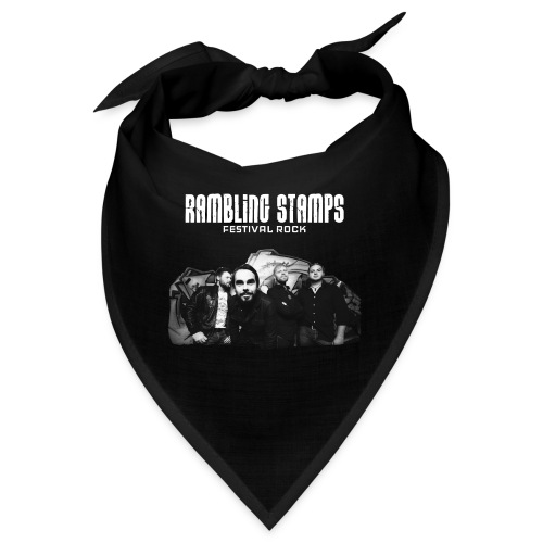 Stampsstuff - Shirt - black - Bandana
