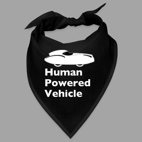 Quattrovelo Human Powered Vehicle white - Bandana