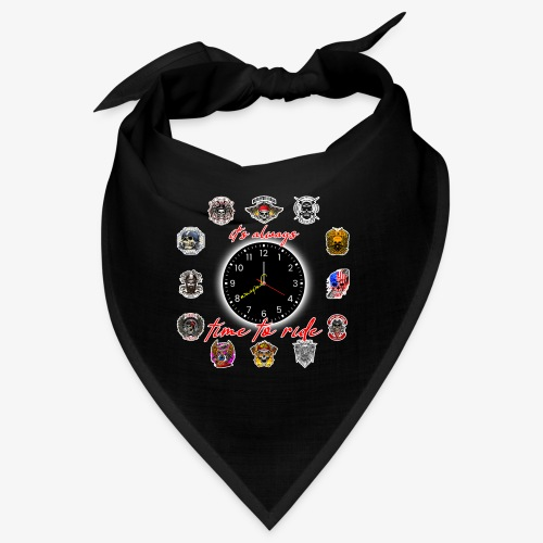 It's always time to ride - Collection - Bandana