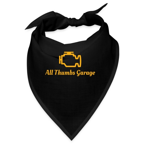 ATG logo + text - Bandana