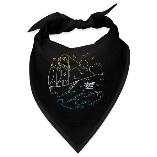 Schiff mit Sonne und Meer - Bandana