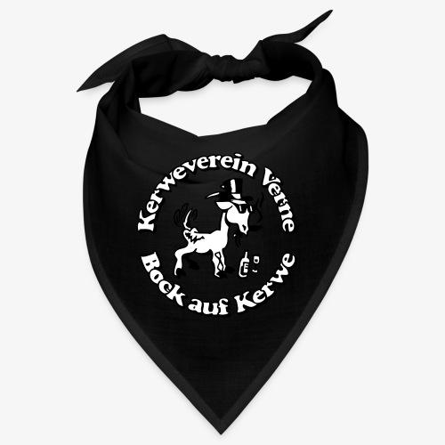 Kerwevereinslogo schwarz-weiss - Bandana