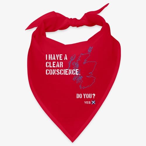 Clear Conscience - Bandana