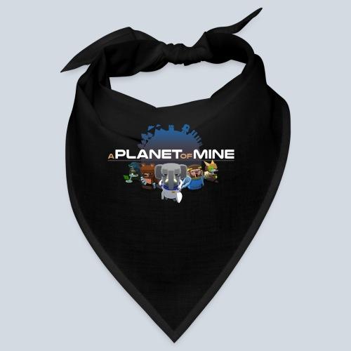 logo planetofmine dark HD - Bandana