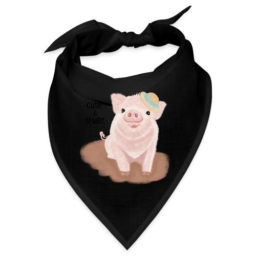 Cute & Smart Pig - Bandana