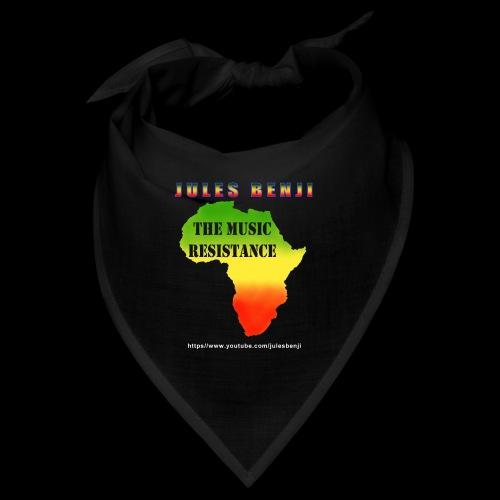 JULES BENJI & MUSIC RESISTANCE africa design - Bandana