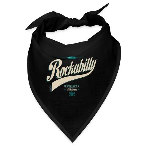 rockabilly letras 2014 azul - Bandana