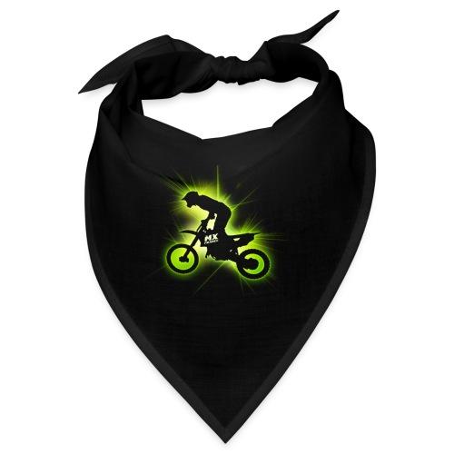 Motocross bike laser_green - Bandana