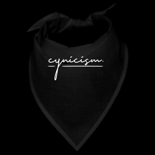 CYNICISM BLACK - Bandana