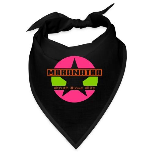 maranatha rosa-grün - Bandana