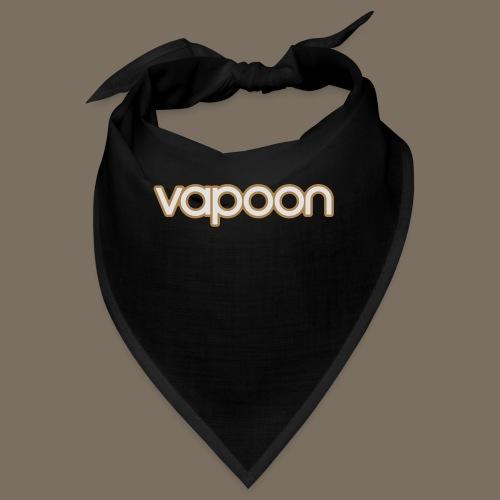Vapoon Logo simpel 2 Farb - Bandana