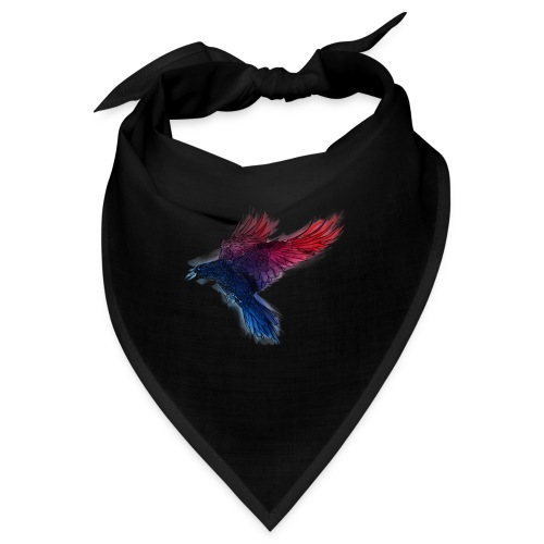 Watercolor Raven - Bandana