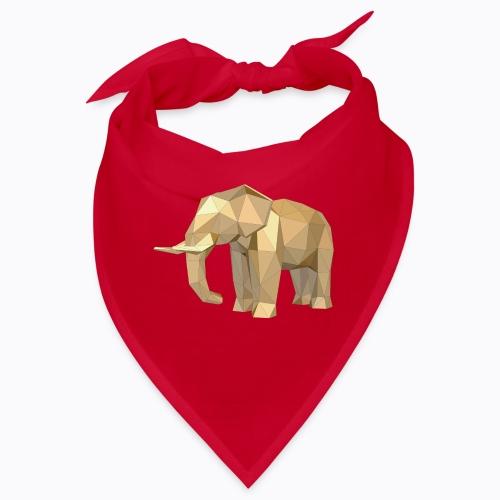 elephant geometric - Bandana