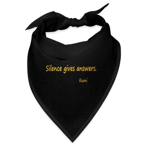Silence - Bandana
