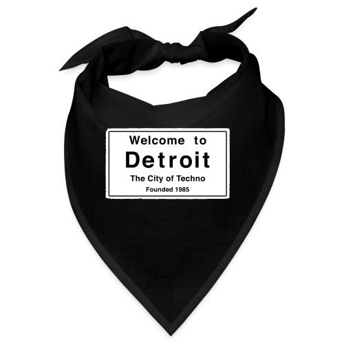 Detroit The City of Techno - Bandana