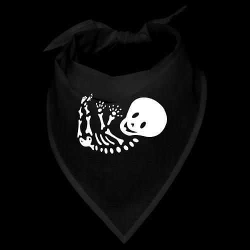Bauchband Baby Skelett - Bandana
