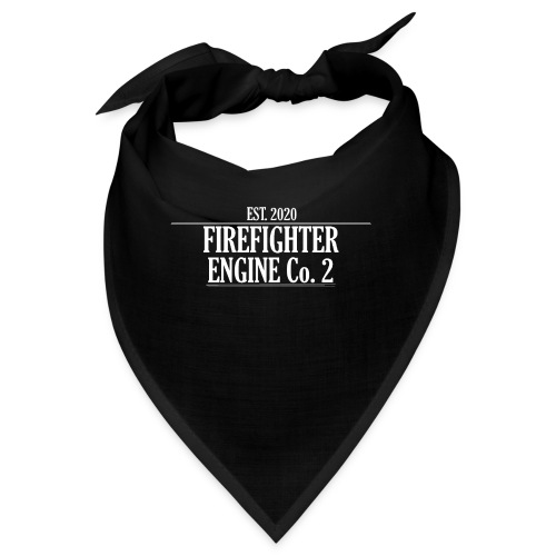 Firefighter ENGINE Co 2 - Bandana