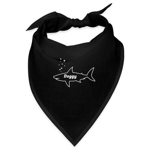 Doggy shark - Matching dog outfit for fathers day - Bandana