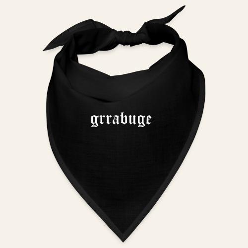 Grrabuge - white - Bandana