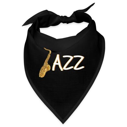 JAZZ Saxophon Saxofonist Shirt Geschenk - Bandana