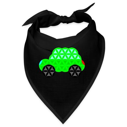 The Car Of Life - M01, Sacred Shapes, Green/R01. - Bandana