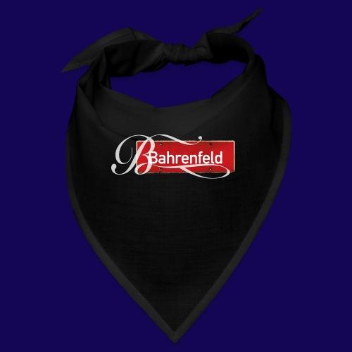 Bahrenfeld Antik-Ortsschild mit pompösem Initial - Bandana
