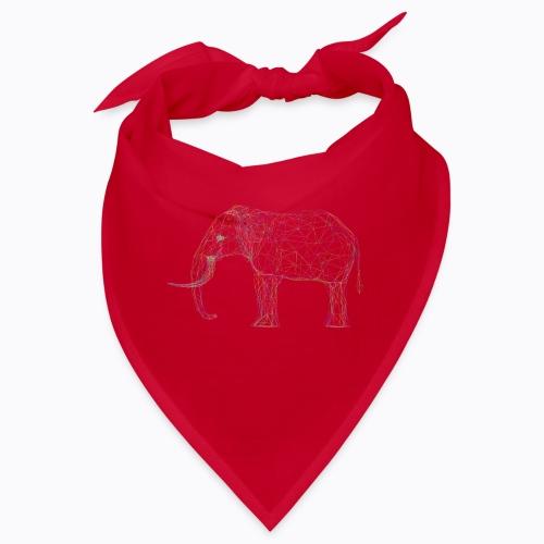 elephant linear - Bandana
