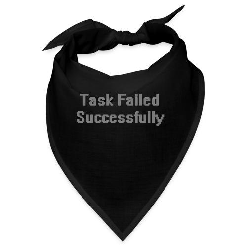 Task Failed - Snusnäsduk