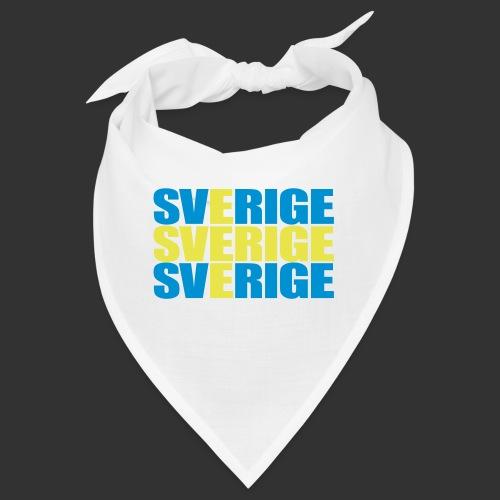 SVERIGE flaggtext - Snusnäsduk