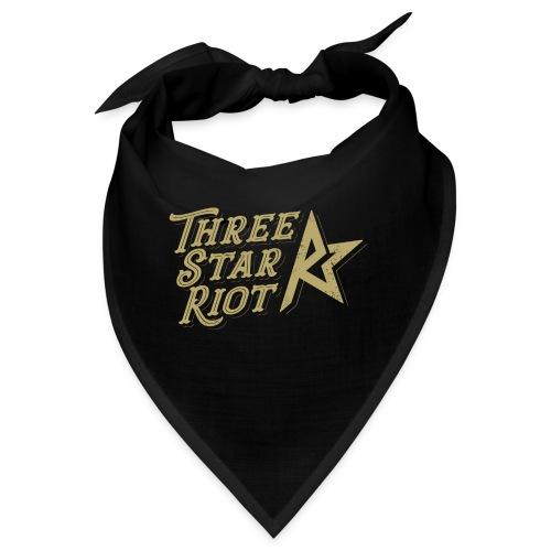 Three Star Riot logo väri - Bandana