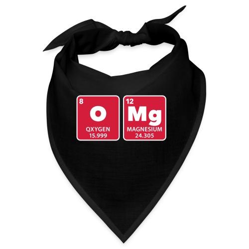 periodic table omg oxygen magnesium Oh mein Gott - Bandana