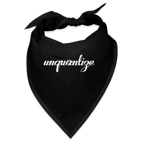 unquantize white logo - Bandana