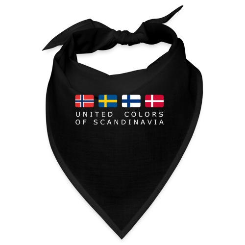 UNITED COLORS OF SCANDINAVIA white-lettered - Bandana