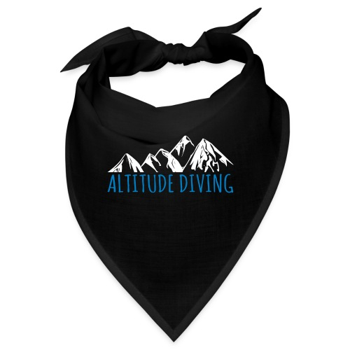 Altitude Diving Höhentauchen Taucher Shirt Geschen - Bandana