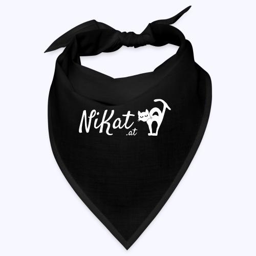Nikat logo weiss - Bandana
