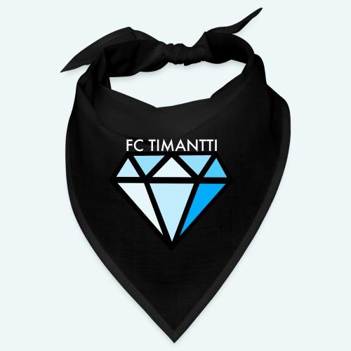 FCTimantti logo valkteksti futura - Bandana