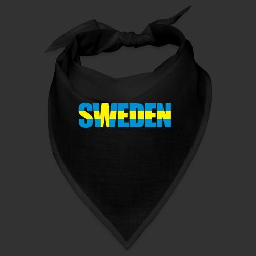 SWEDEN flaggtext - Snusnäsduk