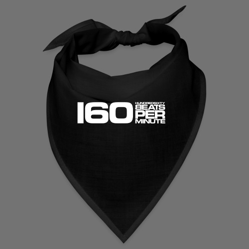 160 BPM (hvid lang) - Bandana