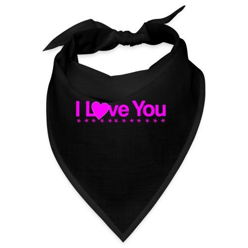 Je t'aime en rose - Bandana