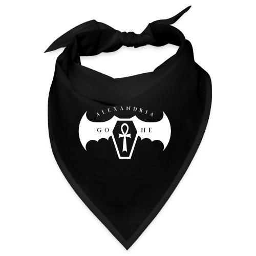 Alexandria Gothe | Goth Queen 2018 Logo - Bandana