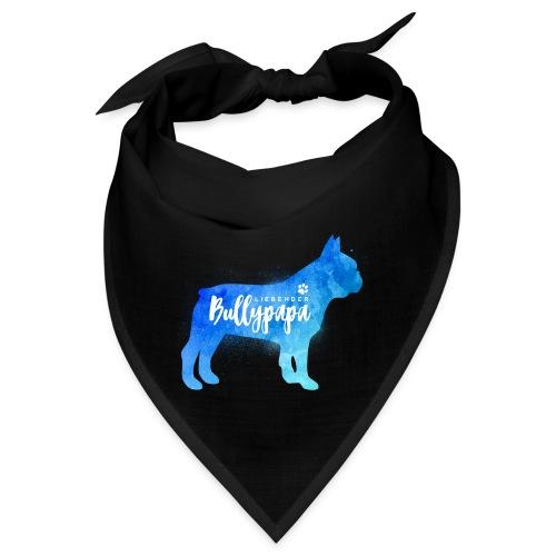 Liebender Bullypapa - Französische Bulldogge - Bandana