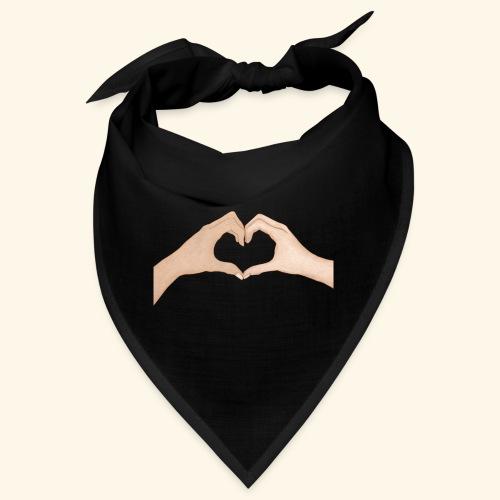 Mains Coeur Amour - Love hands - Bandana